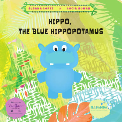 Hippo, the blue hippopotamus